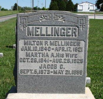 MELLINGER  (CW), MILTON RAY - Adams County, Pennsylvania   MILTON RAY MELLINGER  (CW) - Pennsylvania Gravestone Photos