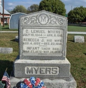 MYERS (CW), C. LEMUEL - Adams County, Pennsylvania | C. LEMUEL MYERS (CW) - Pennsylvania Gravestone Photos