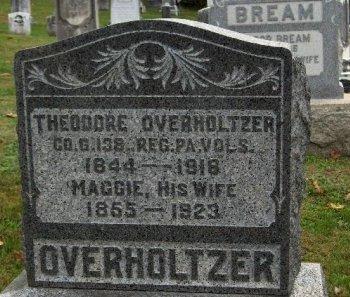 OVERHOLTZER (CW), THEODORE - Adams County, Pennsylvania | THEODORE OVERHOLTZER (CW) - Pennsylvania Gravestone Photos