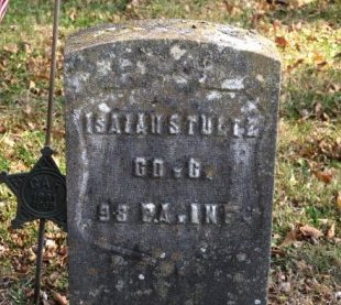 STULTZ (CW), ISIAH - Adams County, Pennsylvania | ISIAH STULTZ (CW) - Pennsylvania Gravestone Photos