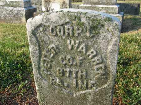 WARREN, CORP.PETER - Adams County, Pennsylvania   CORP.PETER WARREN - Pennsylvania Gravestone Photos