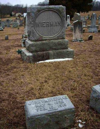 WIERMAN (WIREMAN) (CW), JOHN W. - Adams County, Pennsylvania | JOHN W. WIERMAN (WIREMAN) (CW) - Pennsylvania Gravestone Photos