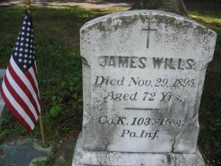 WILLS (CW), JAMES - Adams County, Pennsylvania | JAMES WILLS (CW) - Pennsylvania Gravestone Photos