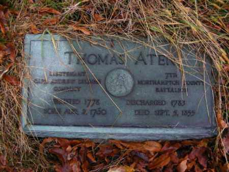 ATEN (RW), THOMAS - Allegheny County, Pennsylvania | THOMAS ATEN (RW) - Pennsylvania Gravestone Photos