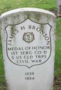 BRONSON (CW CMOH), JAMES H. - Allegheny County, Pennsylvania | JAMES H. BRONSON (CW CMOH) - Pennsylvania Gravestone Photos