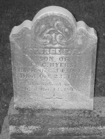 BYERS, INFANT SON - Allegheny County, Pennsylvania | INFANT SON BYERS - Pennsylvania Gravestone Photos