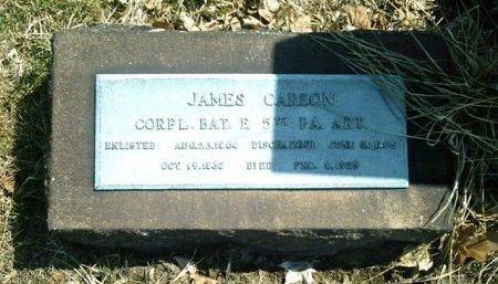 CARSON  (CW), JAMES - Allegheny County, Pennsylvania | JAMES CARSON  (CW) - Pennsylvania Gravestone Photos