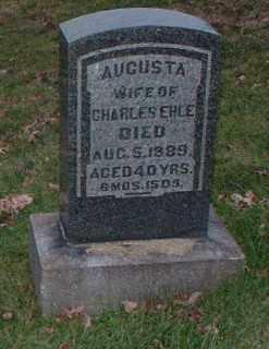 EHLE, AUGUSTA - Allegheny County, Pennsylvania | AUGUSTA EHLE - Pennsylvania Gravestone Photos