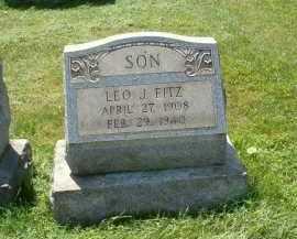 FITZ, LEO J. - Allegheny County, Pennsylvania | LEO J. FITZ - Pennsylvania Gravestone Photos