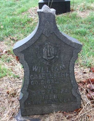 GRABENSTEIN (CW), WILLIAM - Allegheny County, Pennsylvania   WILLIAM GRABENSTEIN (CW) - Pennsylvania Gravestone Photos