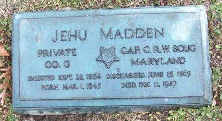 MADDEN (CW), JEHU (JEHN) - Allegheny County, Pennsylvania | JEHU (JEHN) MADDEN (CW) - Pennsylvania Gravestone Photos