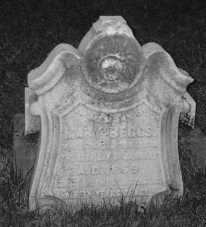 MARY, BEGGS - Allegheny County, Pennsylvania | BEGGS MARY - Pennsylvania Gravestone Photos