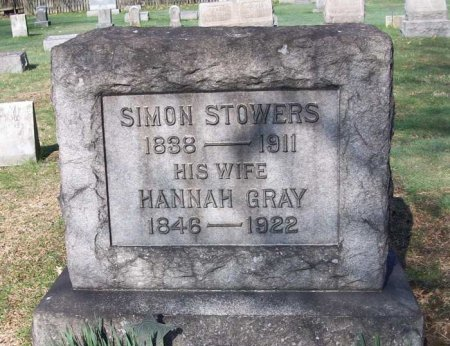 STOWERS (CW), SIMON - Allegheny County, Pennsylvania | SIMON STOWERS (CW) - Pennsylvania Gravestone Photos