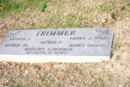COX TRIMMER, LAURA JANE - Allegheny County, Pennsylvania | LAURA JANE COX TRIMMER - Pennsylvania Gravestone Photos
