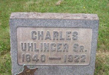 UHLINGER (CW), CHARLES - Allegheny County, Pennsylvania | CHARLES UHLINGER (CW) - Pennsylvania Gravestone Photos