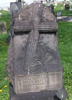WEAVER (CW), SAMUEL - Allegheny County, Pennsylvania | SAMUEL WEAVER (CW) - Pennsylvania Gravestone Photos