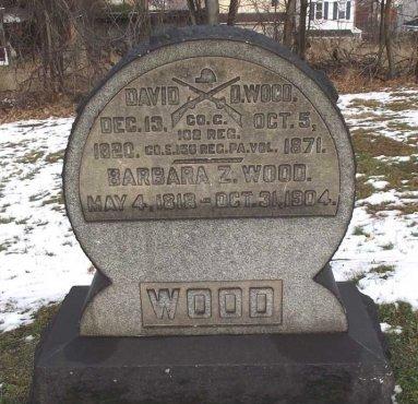 WOOD (CW), DAVID D. - Allegheny County, Pennsylvania | DAVID D. WOOD (CW) - Pennsylvania Gravestone Photos