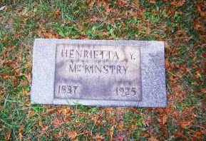 MCKINSTRY, HENRIETTA Y. - Armstrong County, Pennsylvania | HENRIETTA Y. MCKINSTRY - Pennsylvania Gravestone Photos