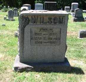 WILSON, JOHN WATSON - Armstrong County, Pennsylvania | JOHN WATSON WILSON - Pennsylvania Gravestone Photos