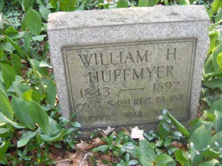 HUFFMYER, WILLIAM H - Beaver County, Pennsylvania | WILLIAM H HUFFMYER - Pennsylvania Gravestone Photos