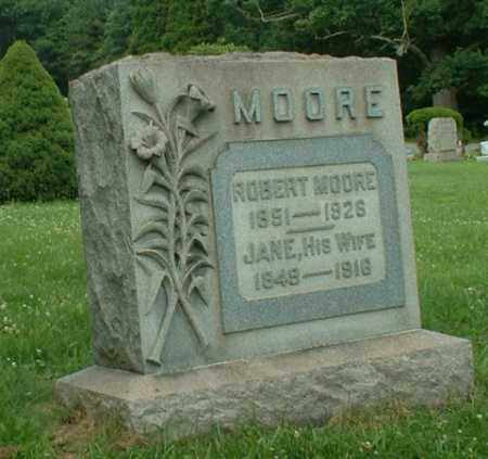 MOORE, JANE - Beaver County, Pennsylvania | JANE MOORE - Pennsylvania Gravestone Photos