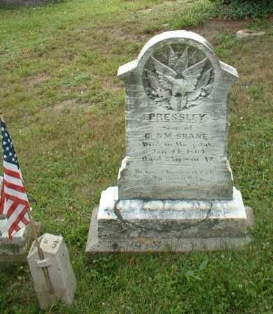 SHANE, PRESLEY - Beaver County, Pennsylvania | PRESLEY SHANE - Pennsylvania Gravestone Photos
