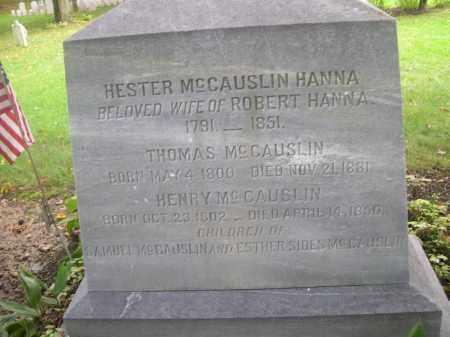 MCCAUSLIN, HENRY - Bedford County, Pennsylvania   HENRY MCCAUSLIN - Pennsylvania Gravestone Photos