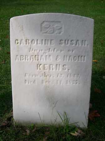 KERNS, CAROLINE SUSAN - Bedford County, Pennsylvania | CAROLINE SUSAN KERNS - Pennsylvania Gravestone Photos