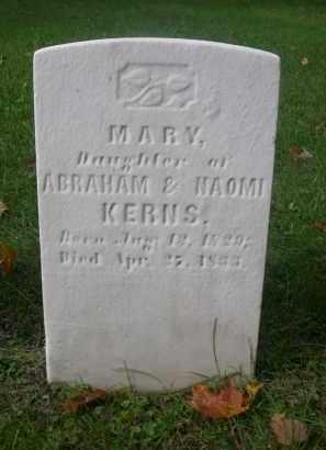 KERNS, MARY - Bedford County, Pennsylvania | MARY KERNS - Pennsylvania Gravestone Photos