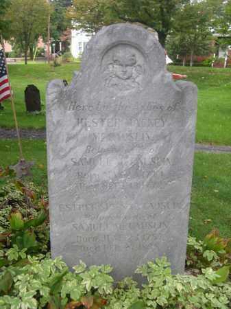 MCCAUSLIN, HESTER - Bedford County, Pennsylvania   HESTER MCCAUSLIN - Pennsylvania Gravestone Photos