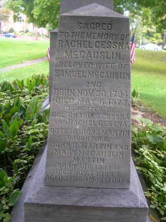 CESSNA MCCAUSLIN, RACHEL - Bedford County, Pennsylvania | RACHEL CESSNA MCCAUSLIN - Pennsylvania Gravestone Photos
