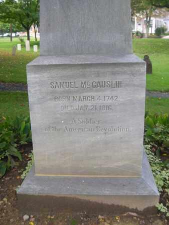 MCCAUSLIN, SAMUEL - Bedford County, Pennsylvania | SAMUEL MCCAUSLIN - Pennsylvania Gravestone Photos