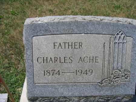 ACHE, CHARLES - Berks County, Pennsylvania | CHARLES ACHE - Pennsylvania Gravestone Photos