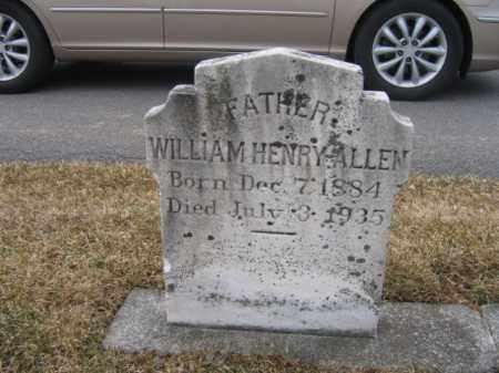 ALLEN, WILLIAM HENRY - Berks County, Pennsylvania   WILLIAM HENRY ALLEN - Pennsylvania Gravestone Photos