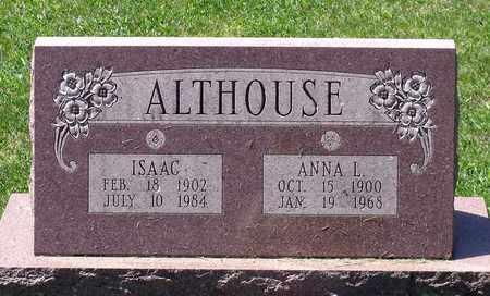 ALTHOUSE, ANNA L. - Berks County, Pennsylvania | ANNA L. ALTHOUSE - Pennsylvania Gravestone Photos
