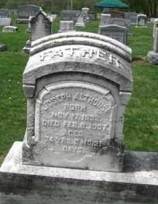 ALTHOUSE, JOSEPH - Berks County, Pennsylvania | JOSEPH ALTHOUSE - Pennsylvania Gravestone Photos