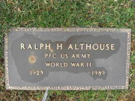 ALTHOUSE, RALPH H. - Berks County, Pennsylvania | RALPH H. ALTHOUSE - Pennsylvania Gravestone Photos