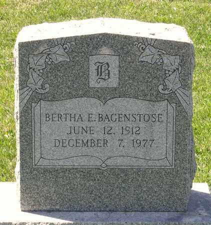 BAGENSTOSE, BERTHA E. - Berks County, Pennsylvania | BERTHA E. BAGENSTOSE - Pennsylvania Gravestone Photos