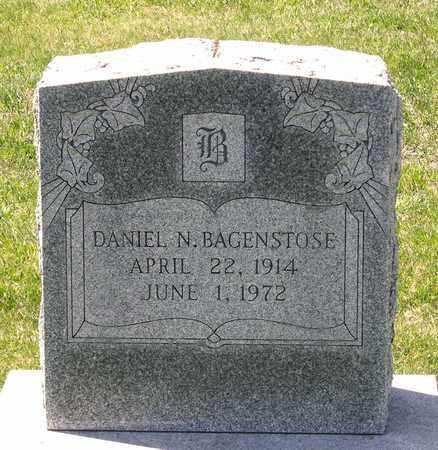 BAGENSTOSE, DANIEL N. - Berks County, Pennsylvania   DANIEL N. BAGENSTOSE - Pennsylvania Gravestone Photos
