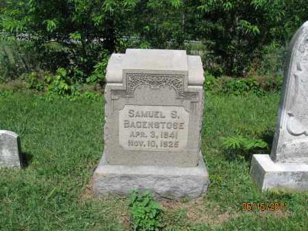BAGENSTOSE, SAMUEL S. - Berks County, Pennsylvania | SAMUEL S. BAGENSTOSE - Pennsylvania Gravestone Photos