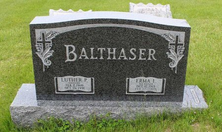 BALTHASER, LUTHER P. - Berks County, Pennsylvania | LUTHER P. BALTHASER - Pennsylvania Gravestone Photos