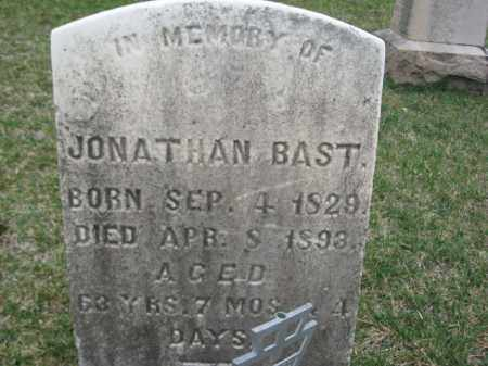 BAST, JONATHAN - Berks County, Pennsylvania   JONATHAN BAST - Pennsylvania Gravestone Photos