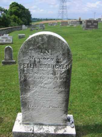 BAUCHER, PETER - Berks County, Pennsylvania | PETER BAUCHER - Pennsylvania Gravestone Photos