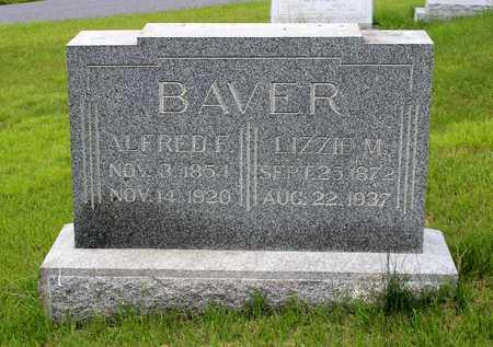 BAVER, LIZZIE M. - Berks County, Pennsylvania | LIZZIE M. BAVER - Pennsylvania Gravestone Photos