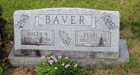 SIEGFRIED BAVER, PEARL I. - Berks County, Pennsylvania | PEARL I. SIEGFRIED BAVER - Pennsylvania Gravestone Photos