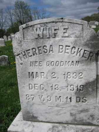 BECKER, THERESA - Berks County, Pennsylvania | THERESA BECKER - Pennsylvania Gravestone Photos