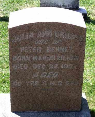 GRUBER BEHNEY, JULIA ANN - Berks County, Pennsylvania | JULIA ANN GRUBER BEHNEY - Pennsylvania Gravestone Photos
