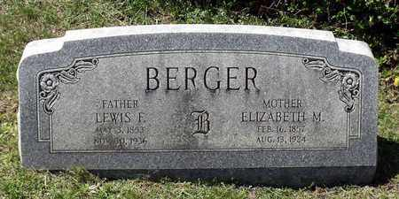 BERGER, LEWIS F. - Berks County, Pennsylvania | LEWIS F. BERGER - Pennsylvania Gravestone Photos