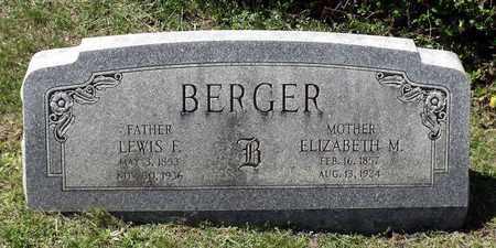 BERGER, ELIZABETH M. - Berks County, Pennsylvania | ELIZABETH M. BERGER - Pennsylvania Gravestone Photos
