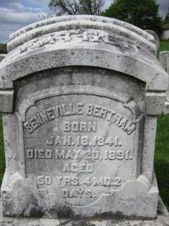 BERTRAM, BENNEVILLE - Berks County, Pennsylvania | BENNEVILLE BERTRAM - Pennsylvania Gravestone Photos